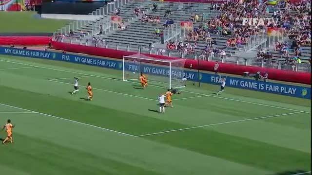 بازی : نروژ 3 - 1 ساحل عاج (جام جهانی زنان 2015 کانادا)