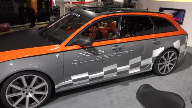 MTM Audi RS6 Clubsport در ژنو 2015