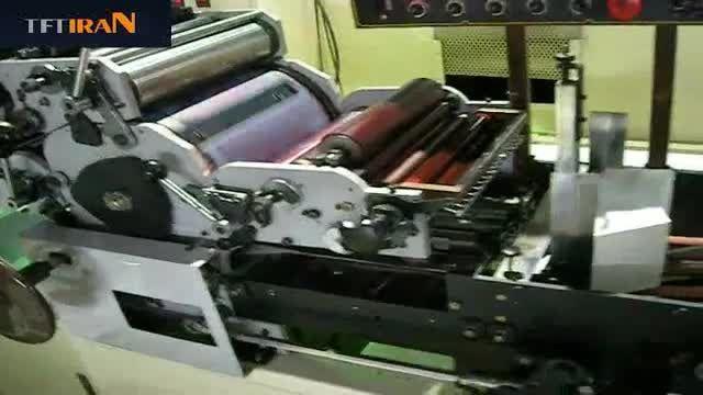 دستگاه چاپ استروک برای لیوان کاغذی