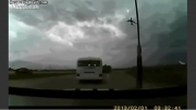 لحظه ی سقوط هواپیما