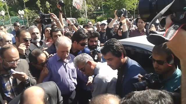 اخرین وداع با مهران دوستی خرداد 94 مسجد بلال