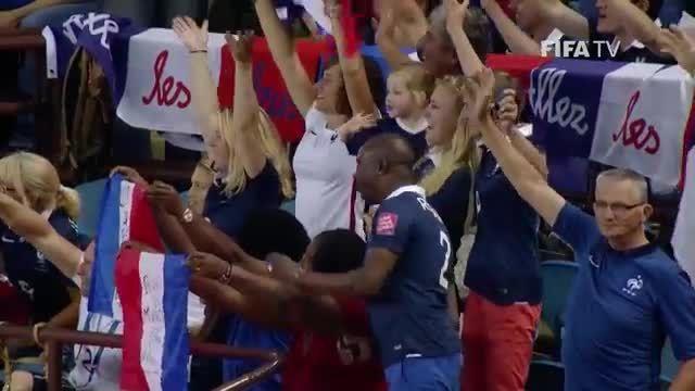 بازی:فرانسه1(4)-(5)1 آلمان (جام جهانی زنان 2015 کانادا)