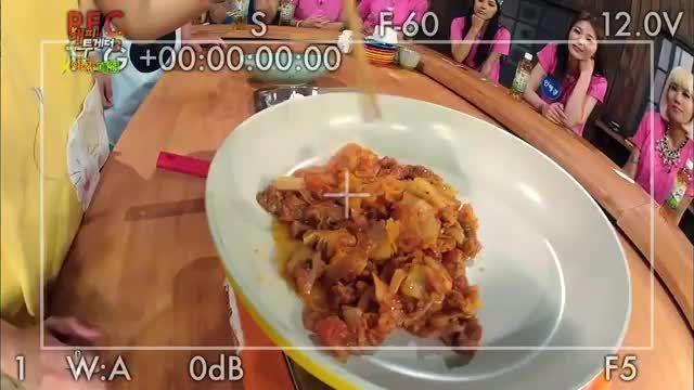 حضور بازیگر سئول (محافظ یئون وو) در یک برنامه آشپزی