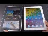 مقایسه Samsung Galaxy Note 10.1 با Apple iPad 3