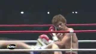 ضربات پای زیبا(کایتن گری)کیوکوشین
