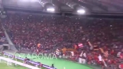 لحظاتی کوتاه از شادی رمی ها بعد از بازی با فیورنتینا