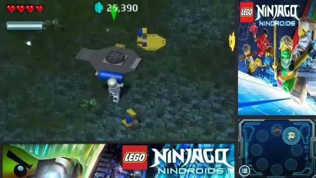 گیم پلی بازی لگو نینجاگو ربات های نینجا-پارت5