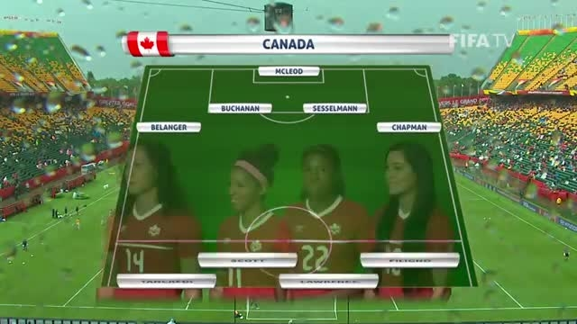 ترکیب : کانادا VS نیوزلند (جام جهانی زنان 2015 کانادا)