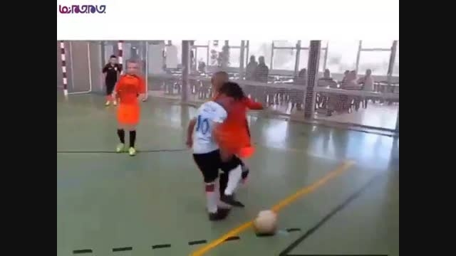 مسی،رونالدو نیمار کوچولو فوتبال+فیلم کلیپ گلچین صفاسا