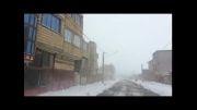 کولاک  و برف شدی بهاری  در هریس