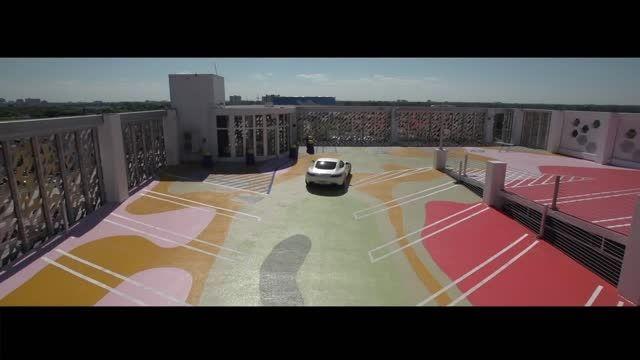 مرسدس بنز GT AMG با رینگ Vossen