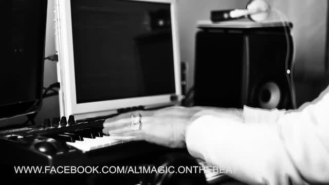 علی مجیک ام جی در حال ساخت آهنگ ناب بهزاد لیتو و زدبازی