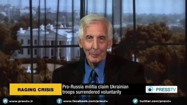 مناظره آتشین طرفدار آمریکا با روسی درباره اوکراین بخش 2