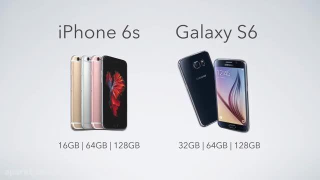 مقایسه Apple iPhone 6s vs Samsung Galaxy S6!