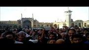مداحی حاج منصور ارضی در تشییع حاج حسن کوچک زاده (نسخه کامل)