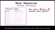 چگونه استارتاپ بسازیم 5 - 28- اشتباهات رایج در ارزش پیشنهادی