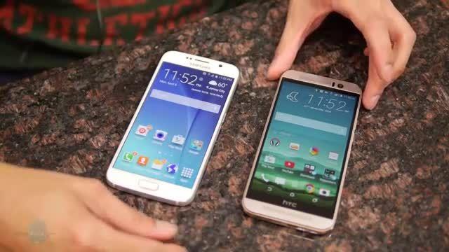 Samsung Galaxy S6 vs HTC One M9 _Full comparison