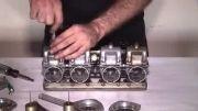 سرویس کردن کاربراتور موتورسیکلت های چهار سیلندر