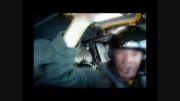 عبور هواپیمای آمریکایی از بالای سر ناو شکن ایرانی