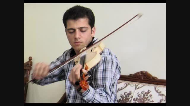 اجرای ویولون بسیار زیبا از هنرمند جوان  نوشهری
