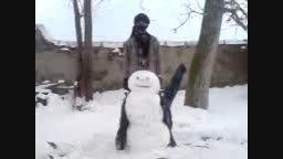 سربریدن ادم برفی توسط داعش