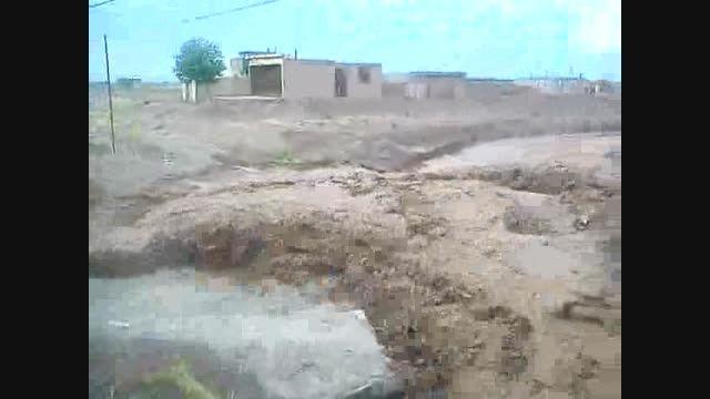 سیل وحشتناک روستای نریمانی