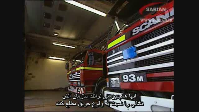 فیلم آموزش اطفاء حریق اسپرینکلر (آب افشان) آتش نشانی