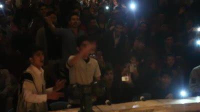 اولین کنسرت رپ در ایران ( پویان مختاری ) در شهر فارسان