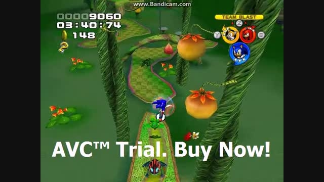Sonic Heroes - Frog Forest Stage 10 - Team Sonic