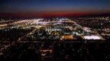 شهر لس آنجلس در شب