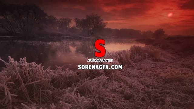 دانلود فوتیج انیمیشن با نام زمستان سرخ