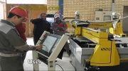 سی ان سی سازان | دستگاه برش CNC پلاسما مدل شافل