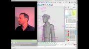 آموزش کاراکتر انیمیشن درمایاmayaمتجرک سازی دیالوگ دو کاراکتر