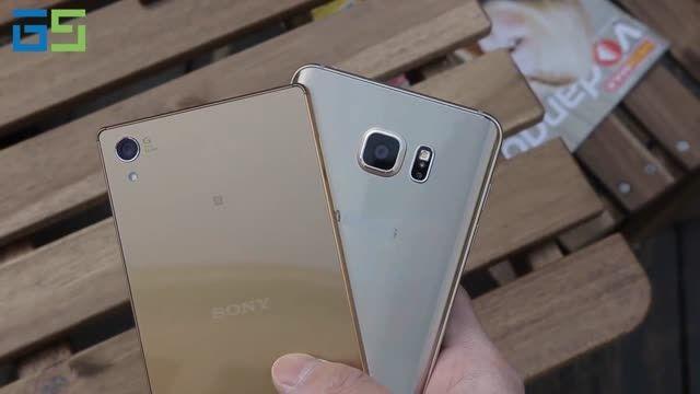 مقایسه کامل Xperia™ Z5 Premium با Galaxy Note5