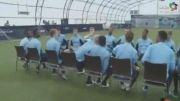 تمرین فوق العاده تیم منچستر سیتی