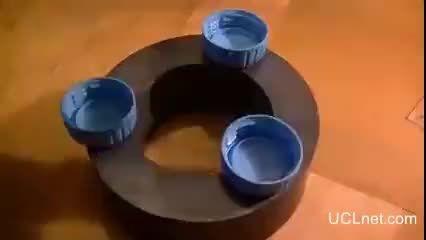 آزمایش جالب آهنربا
