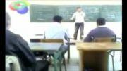 مسخره بازی دخترها و پسرها سر کلاس - ولی استاد قاط میزنه!!