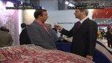چهارمین نمایشگاه فرش ماشینی تهران- فرش تندیس کاشان