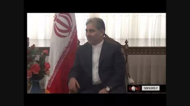 مهندس یاشار نیازی مترجم استاندار آذربایجان شرقی /ترکی 1