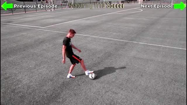 آموزش پاس های پشت پا در فوتبال