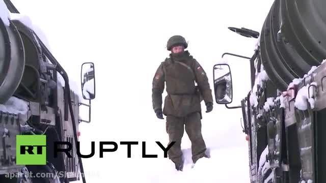 روسیه سیستم های دفاع موشکی S-400 به قطب شمال اعزام کرد