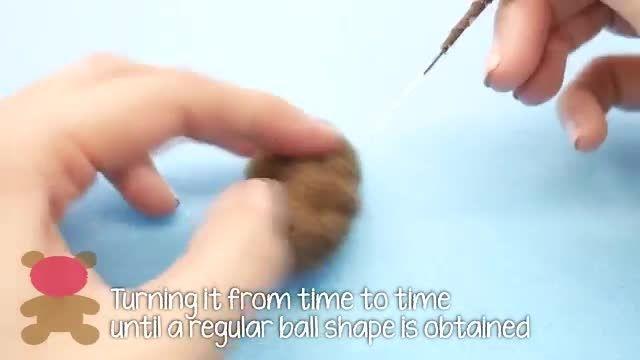 آموزش دوخت عروسک خرس کوچولو Bob(مینیون)