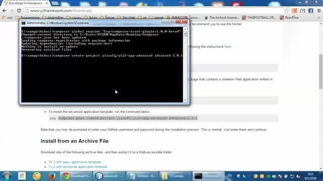 saepul blog - yii2 admin LTE part 1