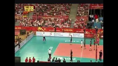 والیبال ایران-صربستان ست چهارم (2)