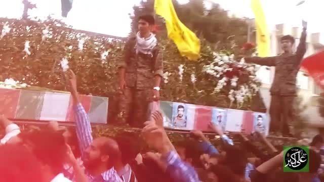ویدئو کلیپ 175 شهید غواص با مداحی کربلایی علی مردانی