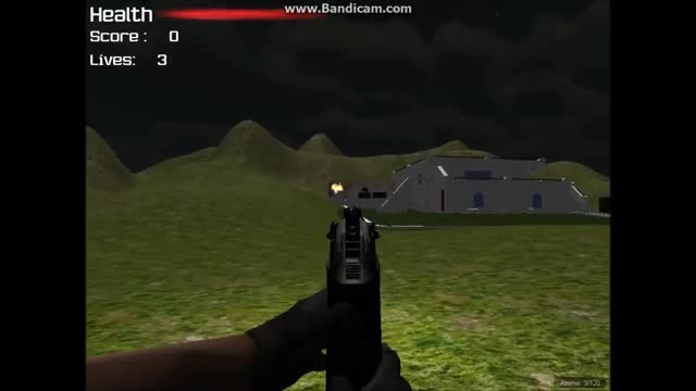 My First Unity 3D FPS Game. - YouTube