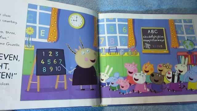 کتاب داستان انگلیسی Peppa Pig and the Busy Day At Schoo