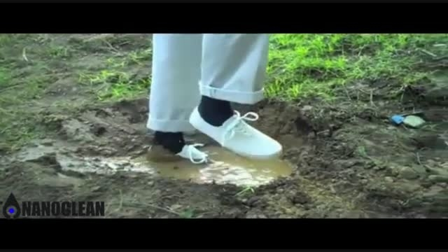کفش خود تمیز شونده