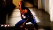 """صحنه خنده دار """"مرد عنكبوتی شگفت انگیز"""""""
