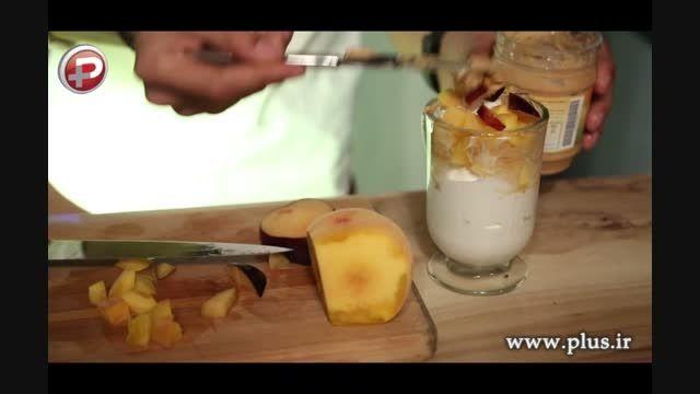 کافه تی وی پلاس: آموزش یک دسر بستنی خوشمزه و خانگی